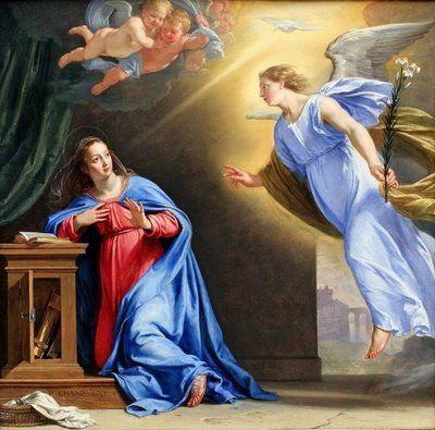 Risultati immagini per annunciazione a maria vangelo